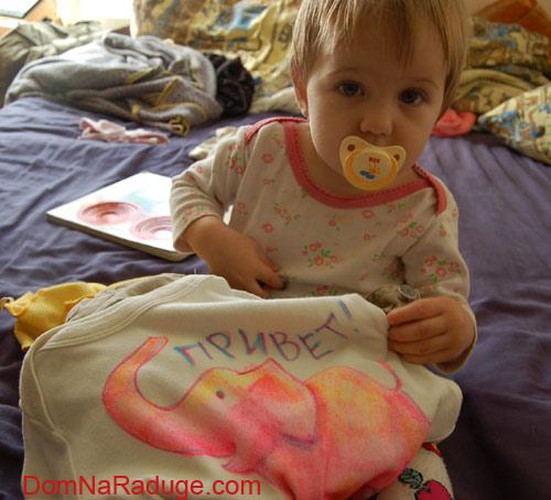 рисунки на детской одежде