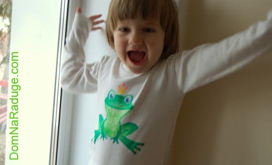рисунки фломастерами на детской одежде