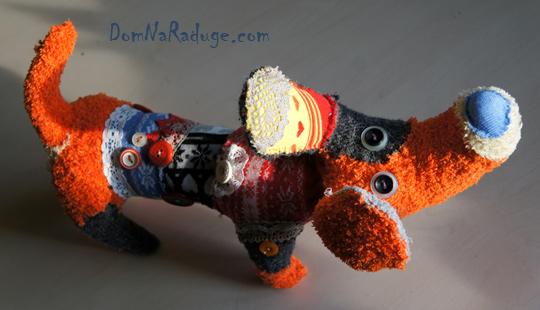 бобики - игрушки из лоскутов