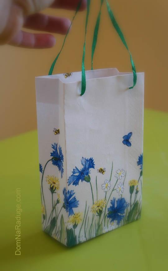 самодельные бумажные пакеты