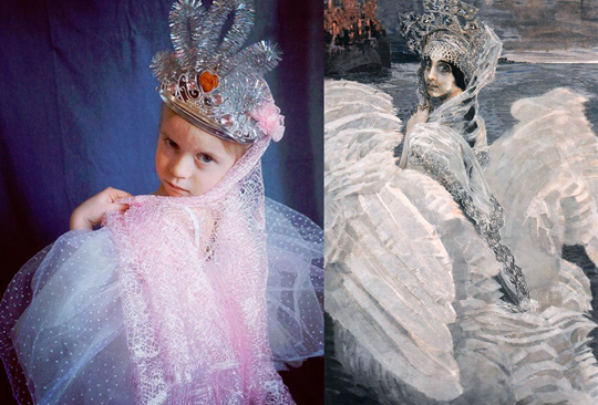 Корона принцесса лебедь своими руками 42