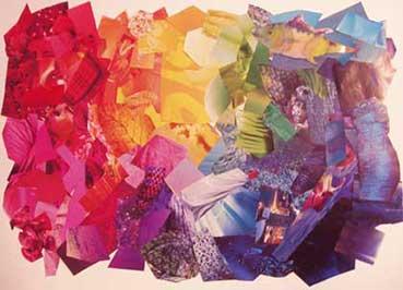 выкладка по цветам