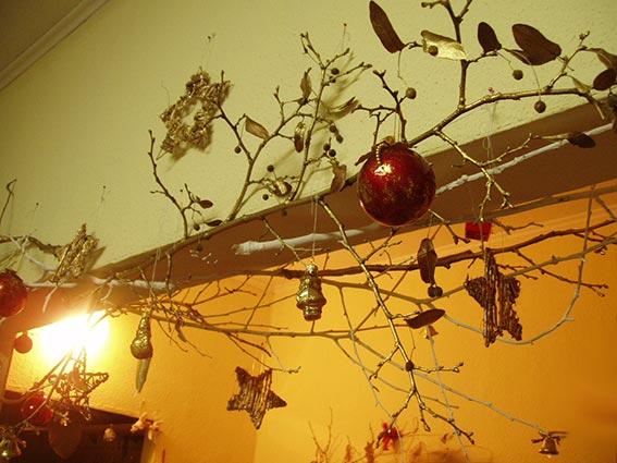 новогодние декорации своими руками