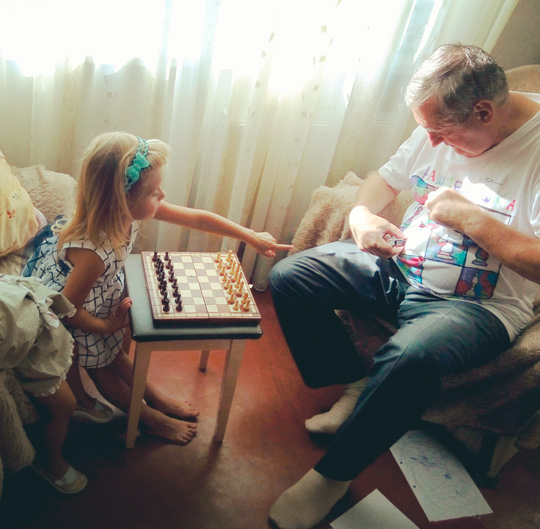 подарок дедушке - дети своими руками