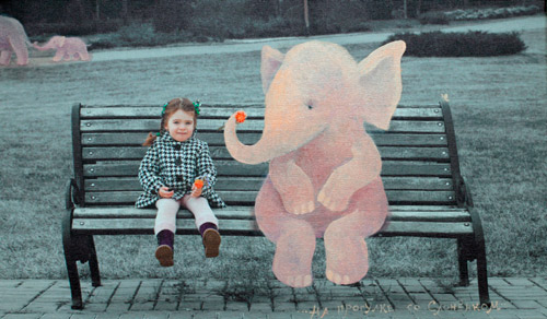 На прогулке со Слонёнком