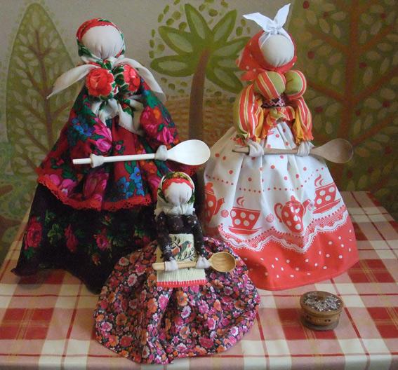 Куклы народные сделанные своими руками