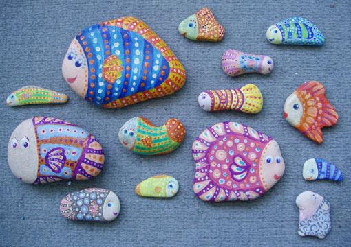 рыбки-камушки