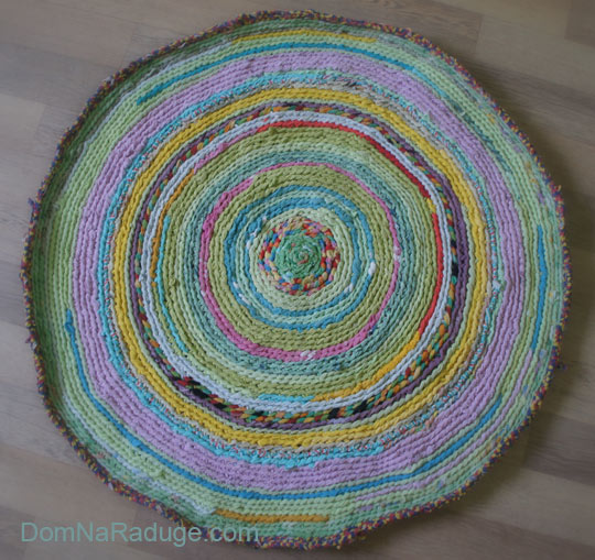 большой бабушкин коврик