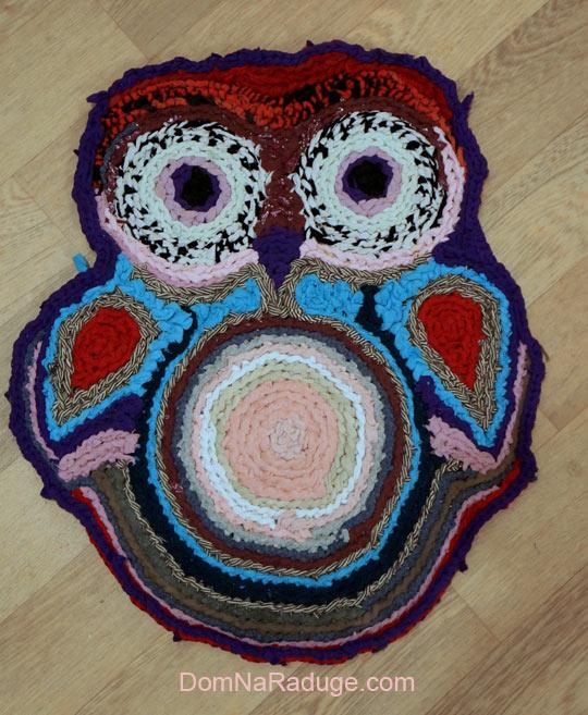 бабушкин коврик - сова