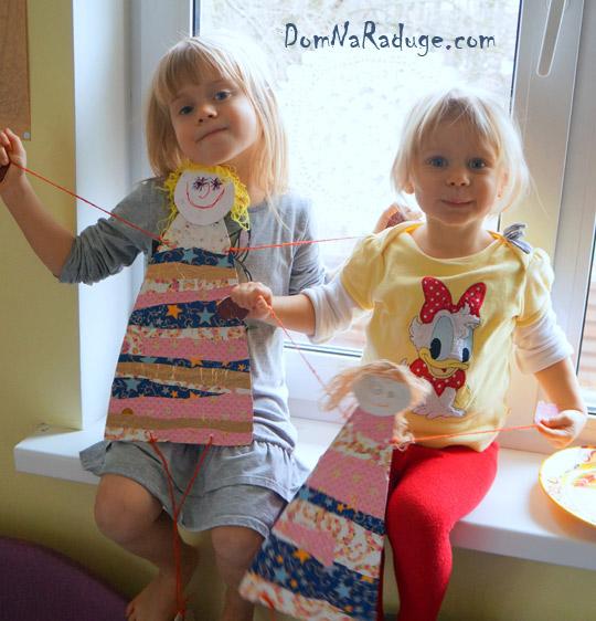 куклы из картона
