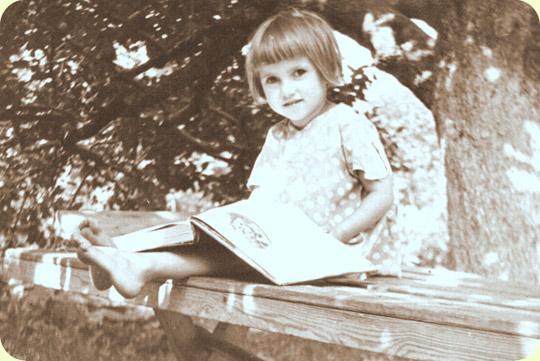 моя мама в детстве :)
