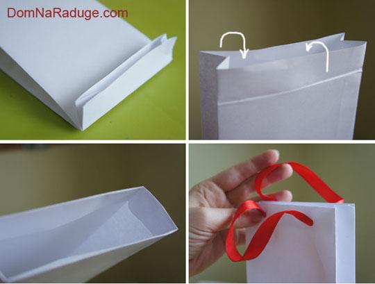 Пакет подарочный бумажный ламинированный 178х229х98 мм