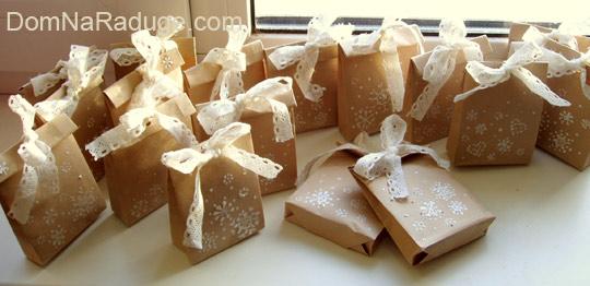 бумажные пакетики своими руками