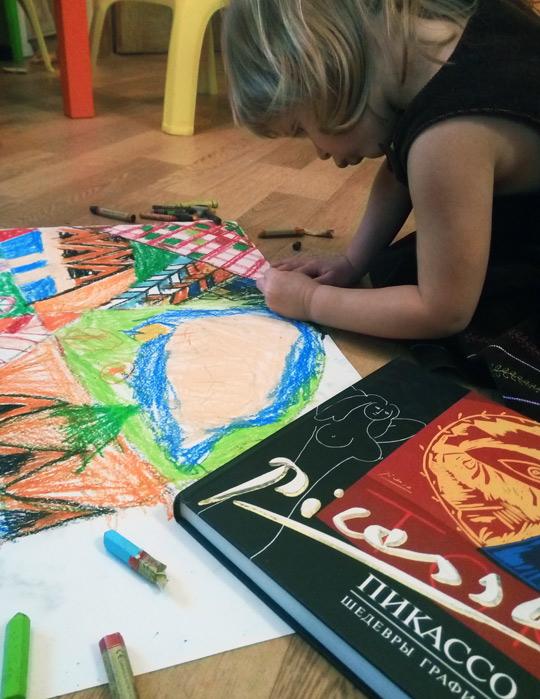 изучаем Пикассо с детьми