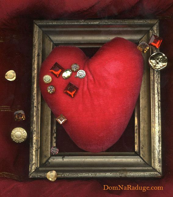 плюшевое сердечко