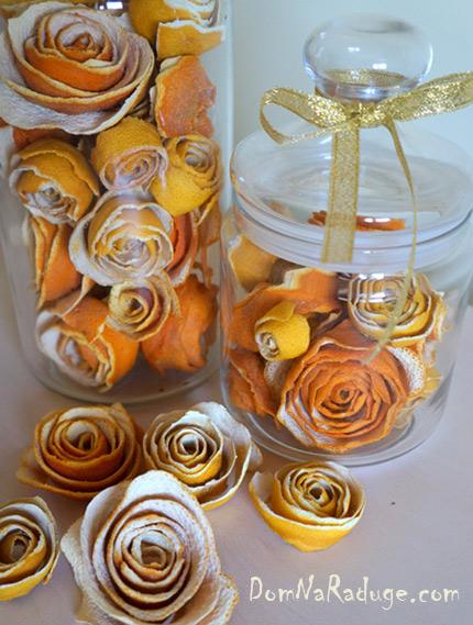 что можно сделать из апельсиновых шкурок