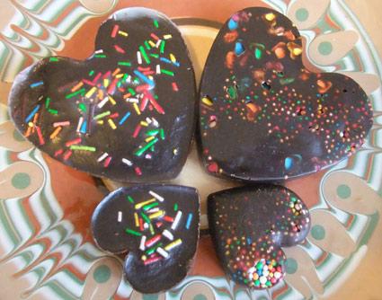 самодельные шоколадные конфеты