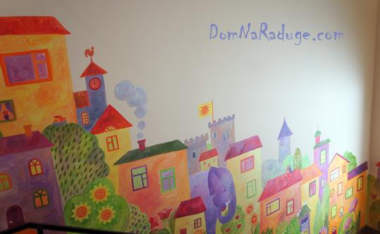 роспись стен - Город счастливых детей