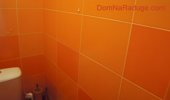 оранжевый санузел