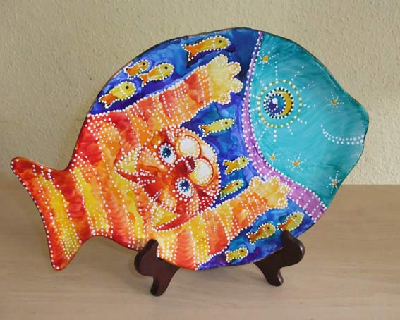 декоративная роспись по керамике