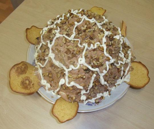 Рецепт торта с заварным кремом