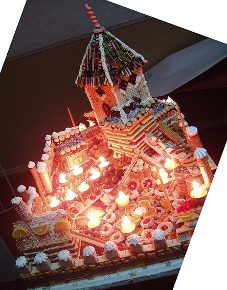 город-торт
