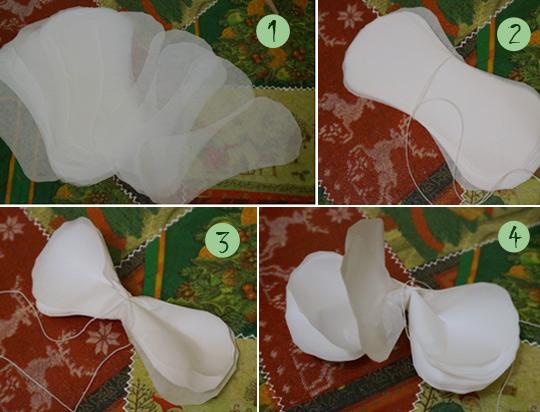 как сделать объемные бумажные шары